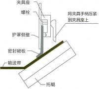 防溢裙板保管和安装